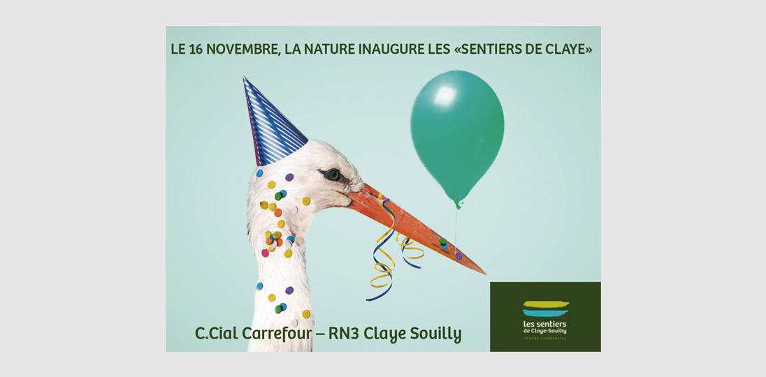 Affiche Centre Commercial Claye Souilly